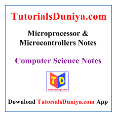 Microprocessor And Microcontrollers NotesPDF