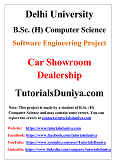 Car Showroom Dealership Software Engineering Project PDF