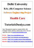 Health Care Software Engineering Project PDF
