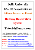 Railway Reservation System Software Engineering Project PDF