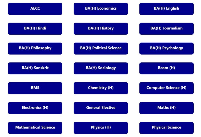 DU Previous Year Question Papers with Solutions last 10 years