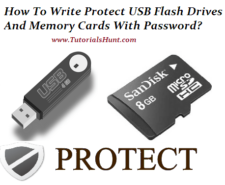 How To Write Protect USB Drives And Memory Cards With Password (Urdu/Hindi)