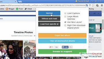 How To Download Facebook Albums Quickly With Single Click