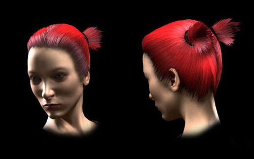 Hairtut in The Ultimate Collection Of Maya 3D Tutorials