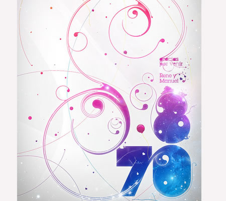 Textart16 in 40+ Killer Typographic Posters, Photoshop Effects and Tutorials
