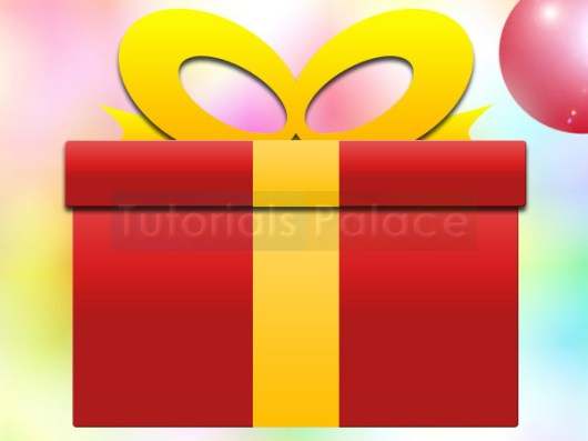 How to Make Christmas Gift Box in Photoshop