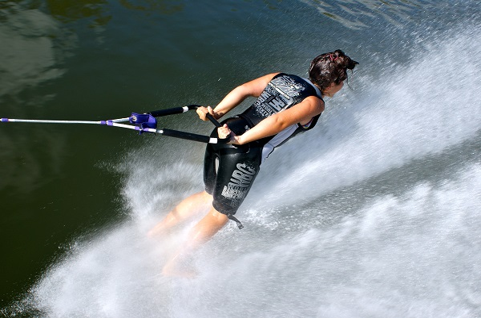 Skiing Forward