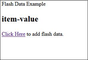 Add Flash Data