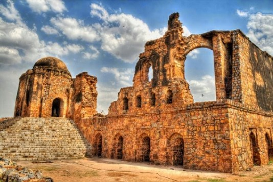 Image result for Feroz Shah Kotla Fort