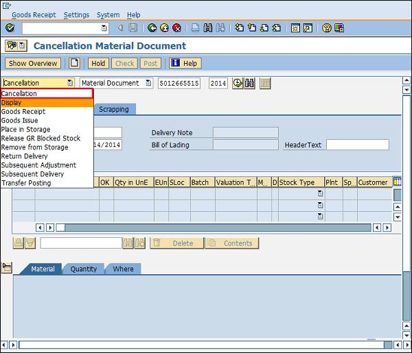 Astonishing Sap Inventory Management Tutorial Movement Types