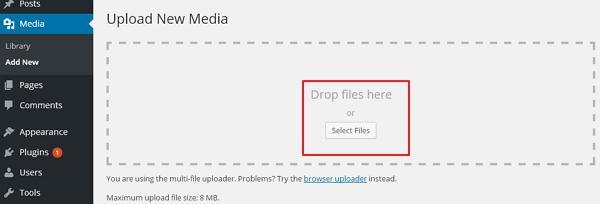 WordPress Add Media