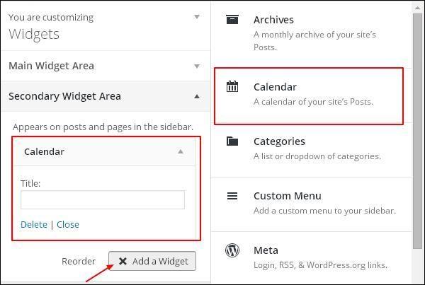 WordPress Customize Theme