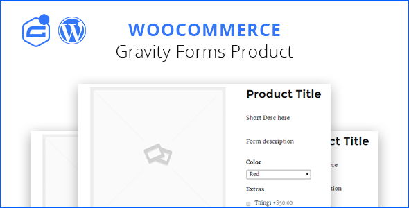 Gravity form woocommerce