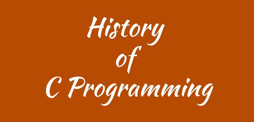 history-of-c-programming