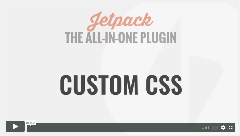 Custom CSS