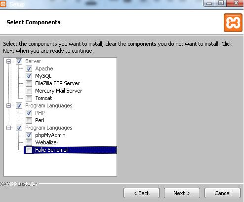Instal XAMPP 1