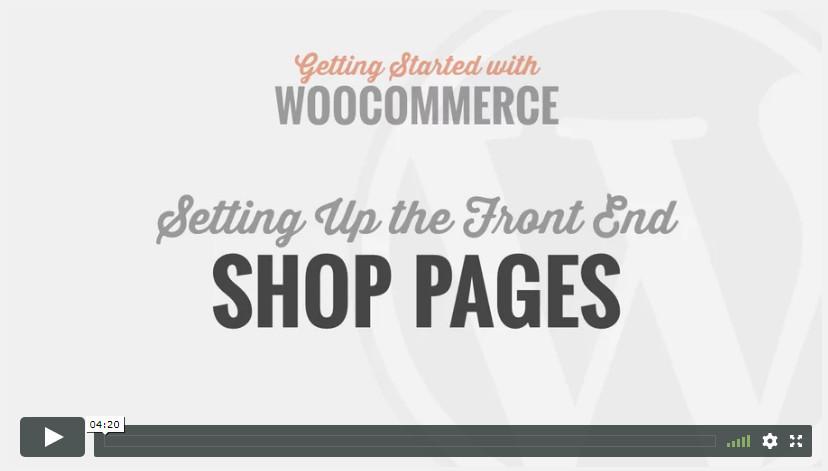 Shop Pages