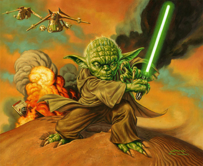 Yoda de Jason Edmiston