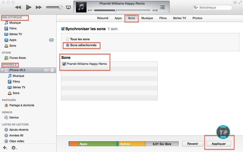 Comment installer une sonnerie m4r sur iphone tutoriel iphone - Comment installer une sonnette filaire ...