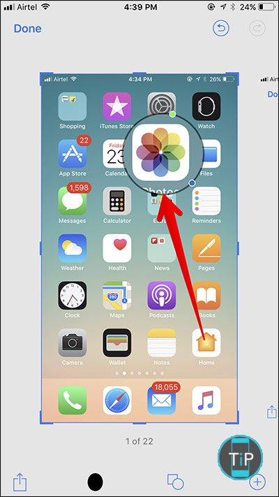 Use-Magnifier-in-Screenshot-Markup-Tool-in-iOS-11
