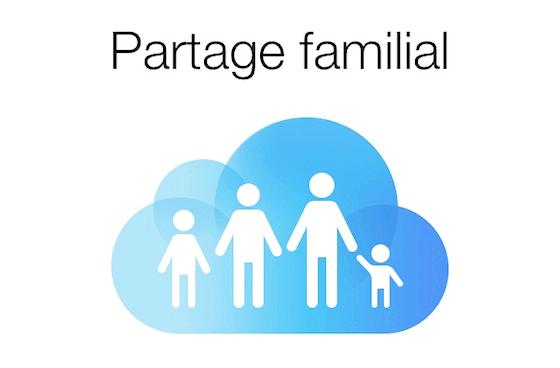 Comment fonctionne le partage familial sur iphone ?