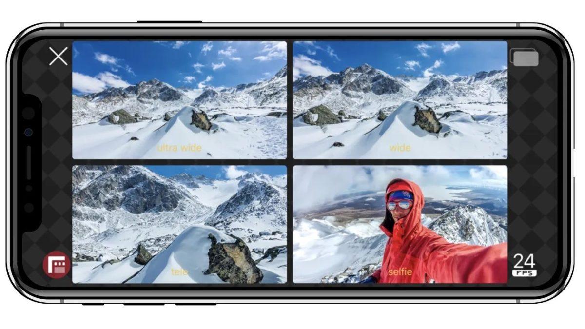 Comment enregistrer une vidéo sur iPhone avec 2 caméras en même temps