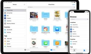 partage de dossier fichier ios iphone
