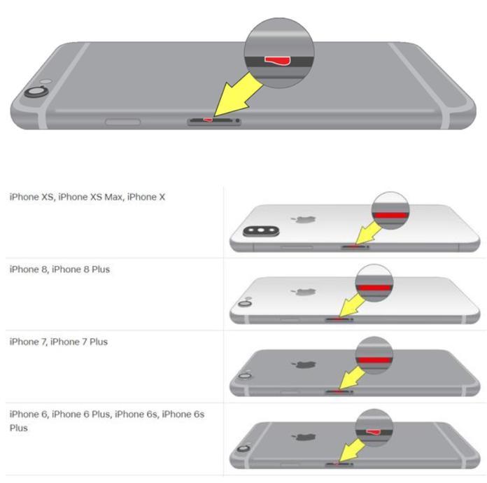 iphone degats des eaux