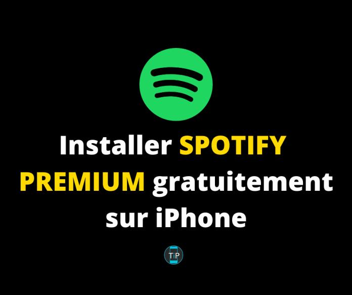 Spotify Premium Gratuit sur iPhone