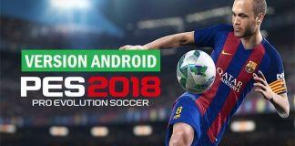 Télécharger pro évolution soccer 2018