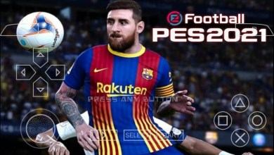 PES 2021 PPSSPP