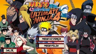 Naruto shippuden ultimate ninja storm 4 PS2 ISO