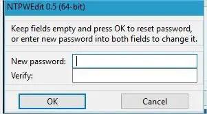 ntpwedit modification du mot de passe