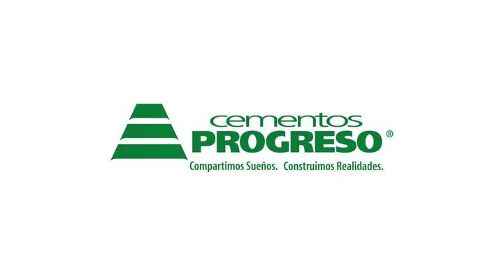 Logotipo de la más importante cementera de Guatemala, Cementos Prtogreso