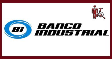 Logotipo de Banco Industrial BI, logotipo para plaza laboral