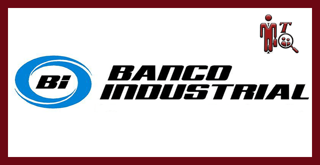Logotipo de Banco Industrial BI, logotipo para plaza laboral