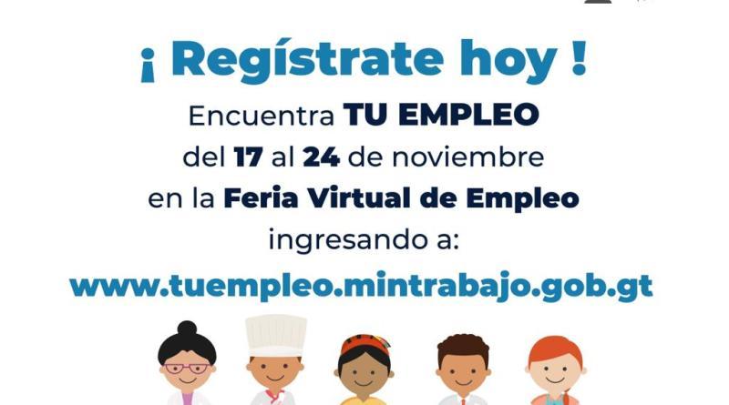 Feria de Trabajo del Ministerio de Trabajo de Guatemala