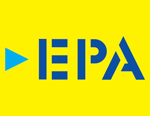 Logotipo de la Ferretería EPA una cadena de ferreterías en Guatemala