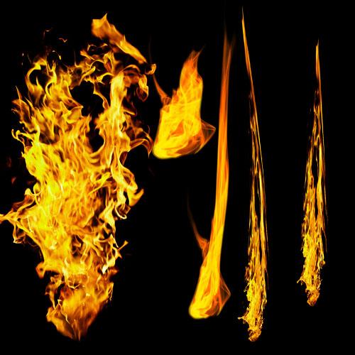 Effet de feu spectaculaire avec Photoshop