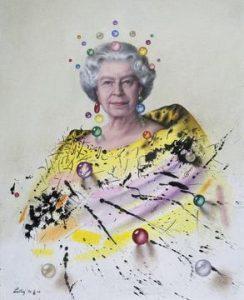 Regina Elisabetta II lanteri