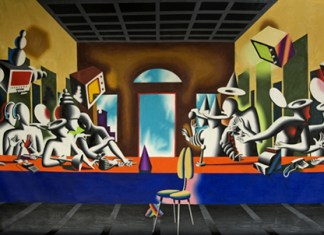 the-last-supper-m-kostabi-