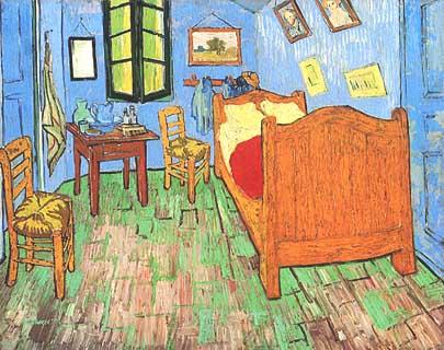 Vincent van Gogh la stanza di arles