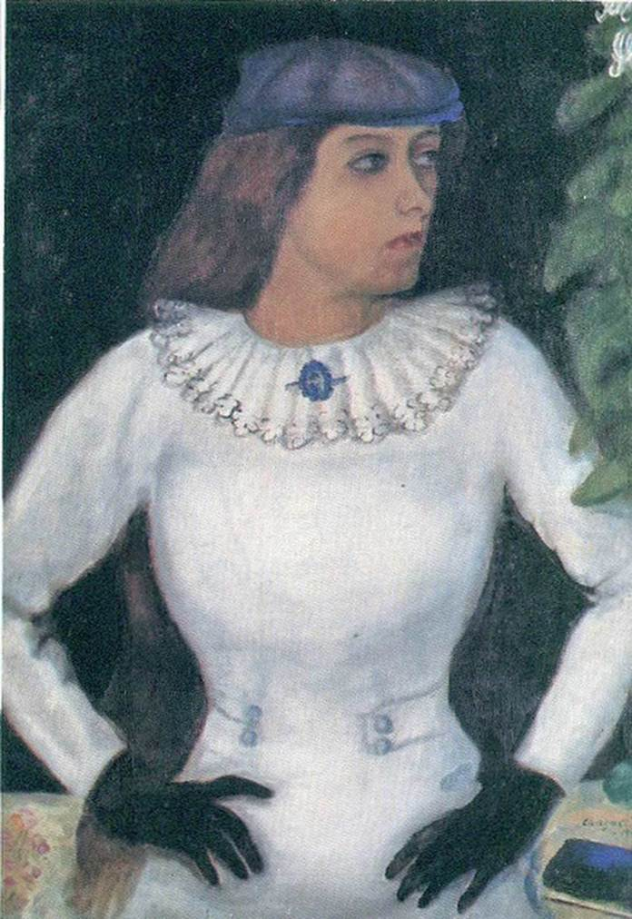My Fianceé with Black Gloves (1909)
