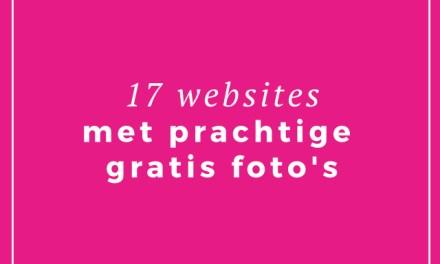 17 websites met prachtige gratis foto's