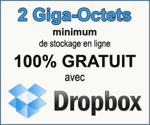 DropBox : de 2 Go jusqu'à 19,63 Go de stockage gratuit dans le cloud