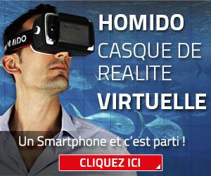 Homido, le casque de réalité virtuelle pour smartphones