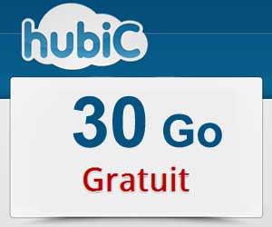 Obtenez de 30 à 50 Go d'espace de stockage gratuit chez Hubic.com