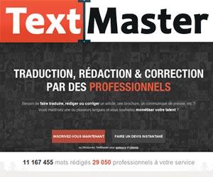 TextMaster : service de traduction, rédaction et correction