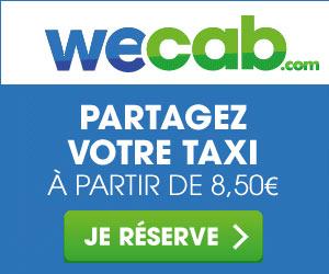 Wecab : partager le taxi pour payez moins cher