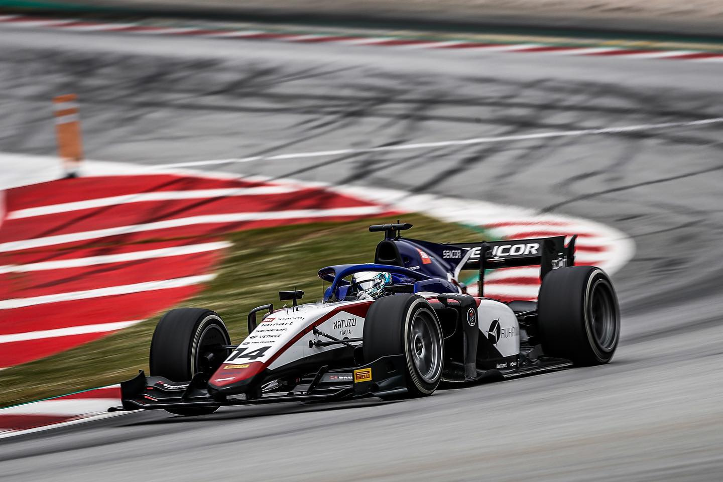 F3: Logan Sargeant ed Enzo Fittipaldi con Charouz Racing System